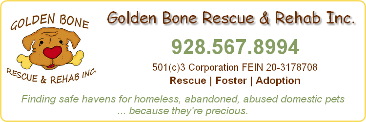 Golden Bone Rescue & Rehab, Inc., Sedona, Arizona